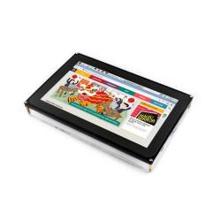 شاشة راسبيري باي HDMI LCD قياس 10.1 إنش - موديل H مع قاعدة - Thumbnail