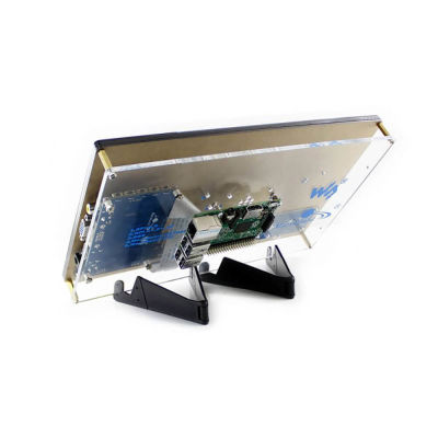 شاشة راسبيري باي HDMI LCD قياس 10.1 إنش - موديل H مع قاعدة