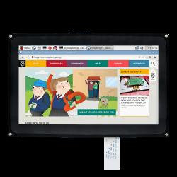 Waveshare - 10.1 inç HDMI Rezistif Dokunmatik LCD Ekran - 1024×600 - KUTULU H Tipi