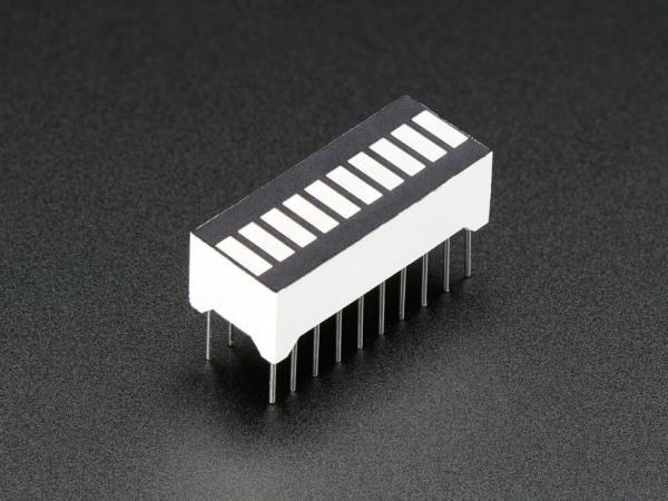 Adafruit - 10 Segment Işık Çubuğu Grafik LED Ekran - Amber