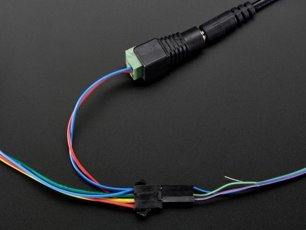 12 mm Dağınık İnce Dijital RGB LED Piksel (25 Dizi) - Thumbnail