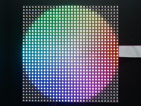 32x32 RGB LED Matrix Panel - 5mm Aralıklı - Thumbnail