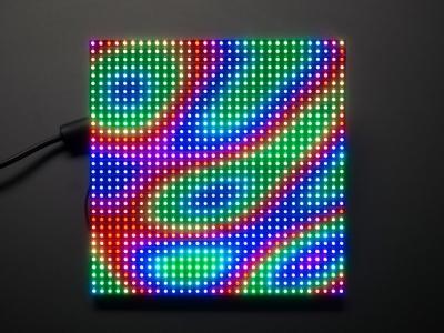 32x32 RGB LED Matrix Panel - 6mm Aralıklı