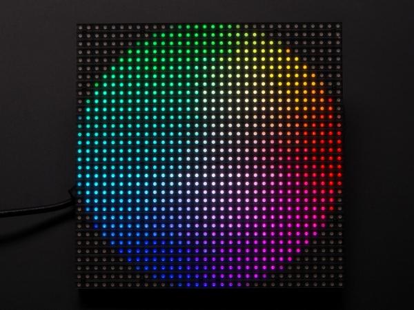 32x32 RGB LED Matrix Panel - 6mm Aralıklı - Thumbnail