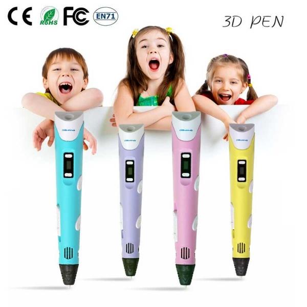 3D Pen V2 - Yellow - Thumbnail