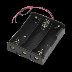 SAMM - 3x1 AAA Battery Holder