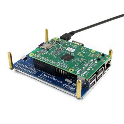 شاشة HDMI لمس لراسبيري باي - قياس 4.3 إنش