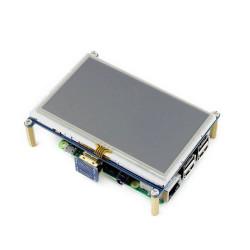 شاشة HDMI لمس لراسبيري باي - قياس 4.3 إنش - Thumbnail