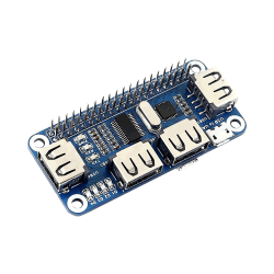 Waveshare - 4 Ports USB HUB HAT
