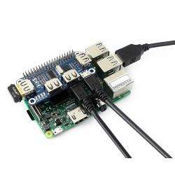 4 Ports USB HUB HAT - Thumbnail