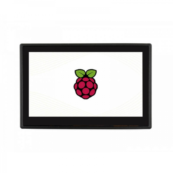 Waveshare - 4.3inch Capacitive Touch Display for Raspberry Pi, with Protection Case, DSI Interface, 800×480