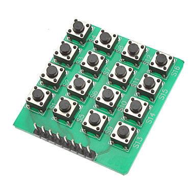 4x4 Yeşil Tuş Takımı-Keypad