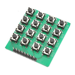 Çin - 4x4 Yeşil Tuş Takımı-Keypad