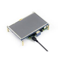 5 inç 800×480 HDMI LCD Dokunmatik Ekran - Thumbnail