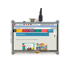 5 inch 800×480 HDMI LCD Touch Screen - Thumbnail