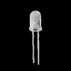 SAMM - ضوء 5MM Led ابيض شفاف