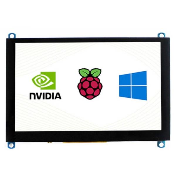 Waveshare - 5inch Kapasitif Dokunmatik Ekran LCD (H), 800×480, HDMI