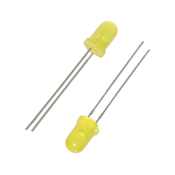 Çin - 5MM Yellow Led