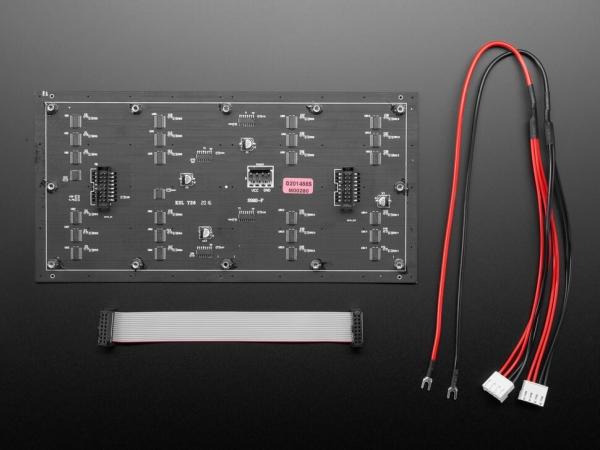 64x32 Esnek RGB LED Matrisi - 4mm Aralıklı - Thumbnail