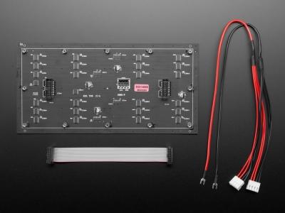 64x32 Esnek RGB LED Matrisi - 4mm Aralıklı
