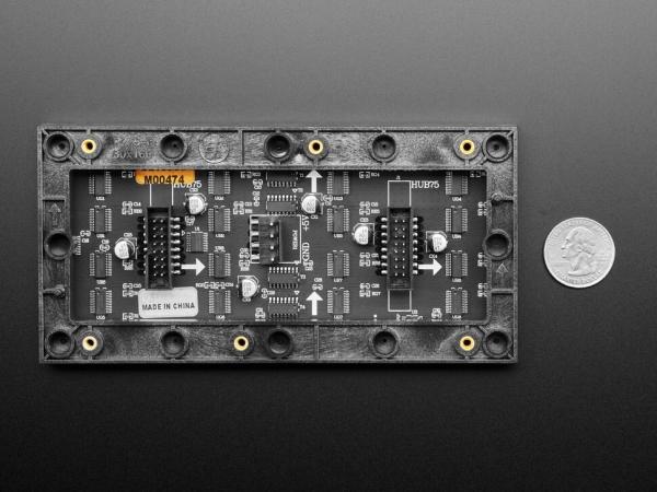 64x32 RGB LED Matrisi - 2,5 mm Aralıklı - Thumbnail