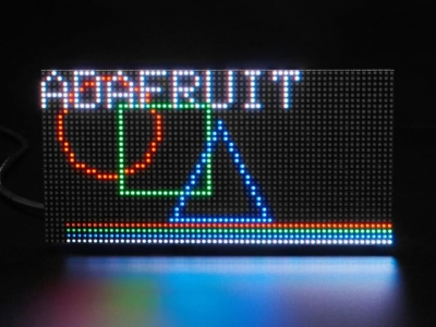 64x32 RGB LED Matrisi - 2,5 mm Aralıklı