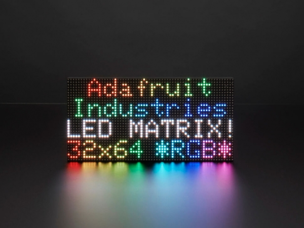 Adafruit - 64x32 RGB LED Matrisi - 3 mm aralıklı
