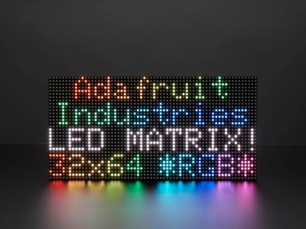Adafruit - 64x32 RGB LED Matrisi - 5 mm Aralıklı