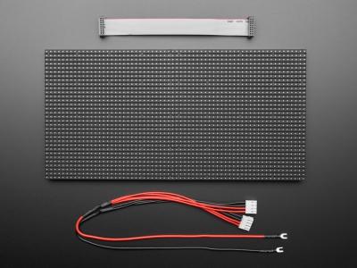 64x32 RGB LED Matrisi - 5 mm Aralıklı