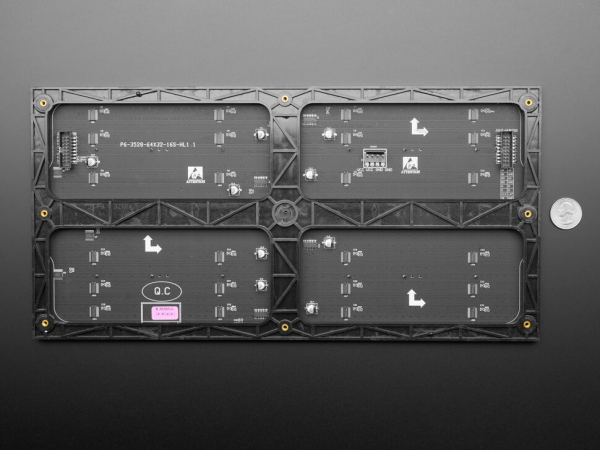 64x32 RGB LED Matrisi - 6mm Aralıklı - Thumbnail