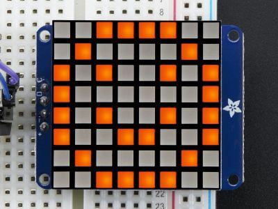 8x8 1.2'' Ekstra Parlak I2C LED Matris