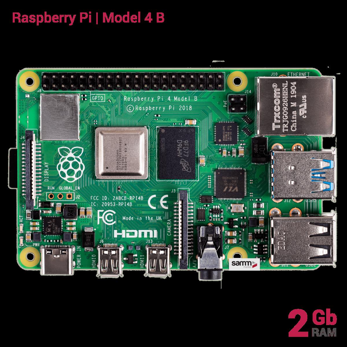 Raspberry Pi 4 Kombin