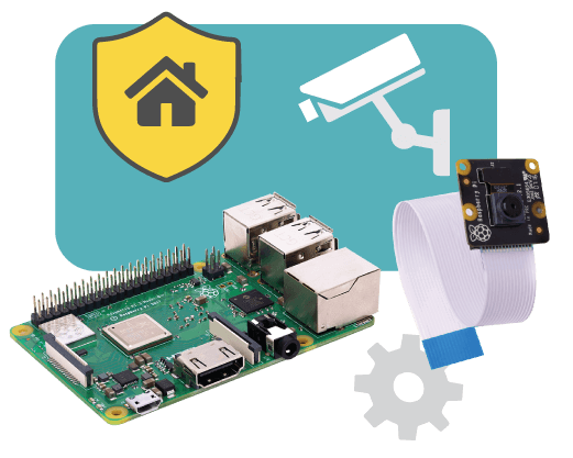 Home Security Camera with Artificial Intelligence and Raspberry Pi