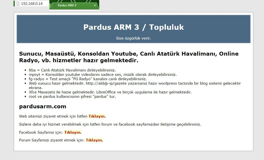 Raspberry Pi - Pardus ARM - 54