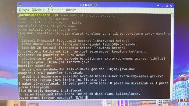 Raspberry Pi - Pardus ARM - 57