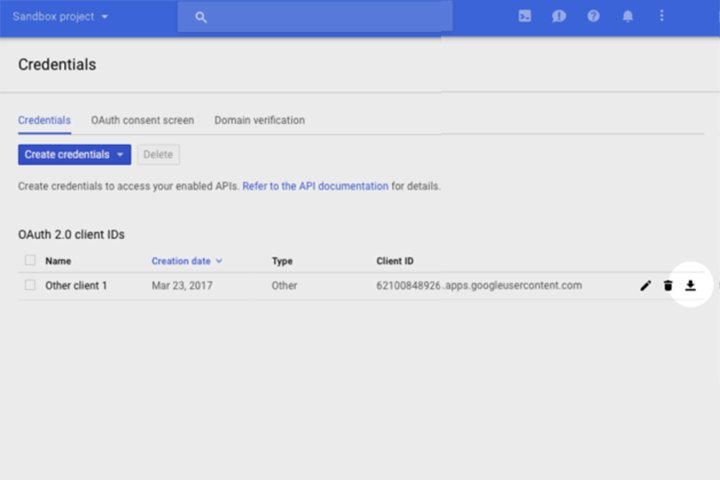 Google Voice Kit, Cloud API Platform a Bağlamak 10