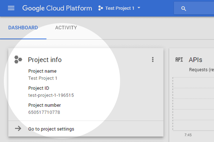 Connecting Google Voice Kit to Google Cloud API Platform 5