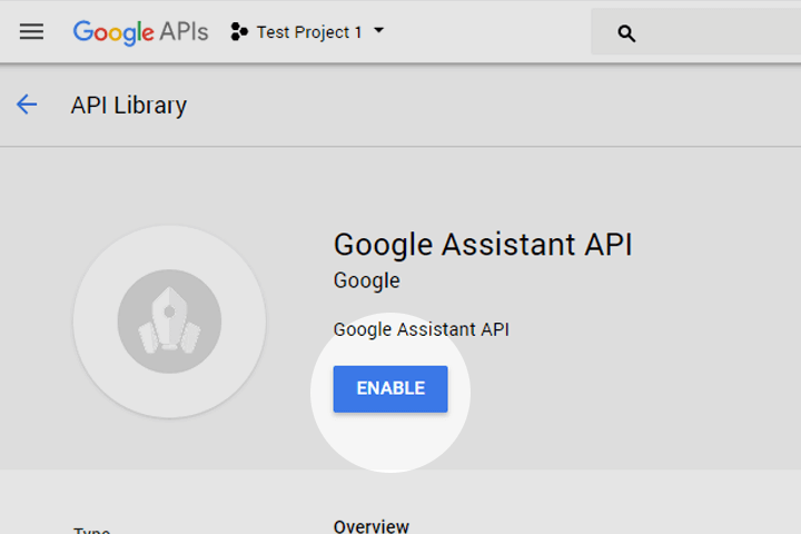 Google Voice Kit, Cloud API Platform a Bağlamak 6