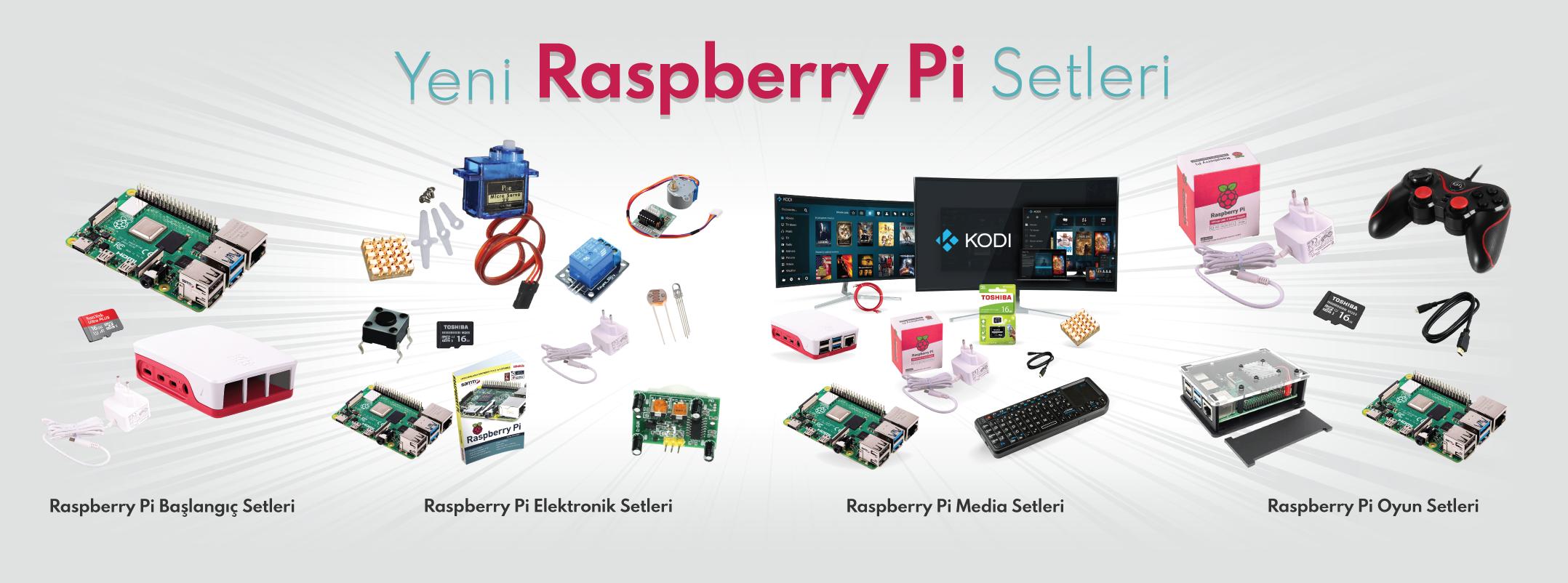 Raspberry Pi Setleri