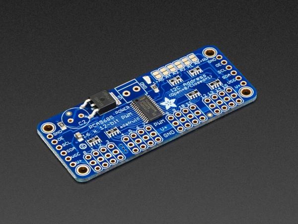 Adafruit - Adafruit 16-Kanal 12-bit PWM/Servo Sürücü - I2C Arayüzü PCA9685