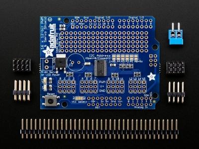 Adafruit 16-Kanal 12-bit PWM/Servo Shield - I2C Arayüzü