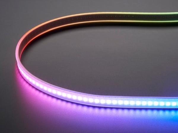 Adafruit - Adafruit DotStar Dijital LED Şerit - Beyaz 144 LED/m - 1m