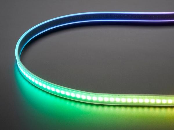 Adafruit DotStar Dijital LED Şerit - Beyaz 144 LED/m - 1m - Thumbnail