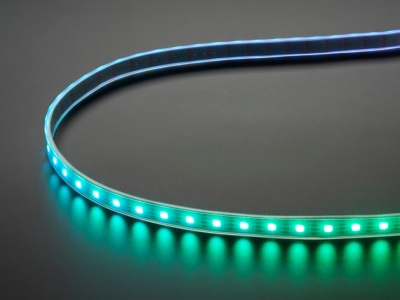 Adafruit DotStar Dijital LED Şerit - Beyaz 60 LED/ Metre Başında 1m