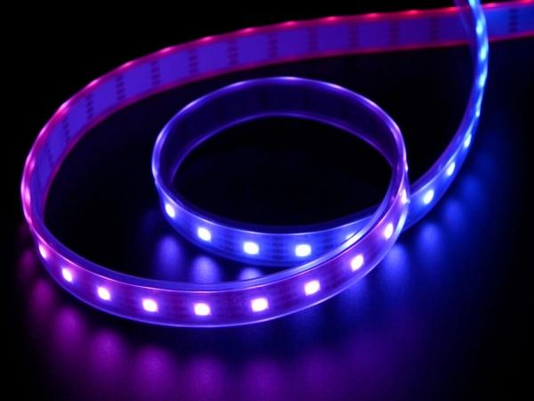 Adafruit - Adafruit DotStar Dijital LED Şerit - Beyaz 60 LED/ Metre Başında 1m