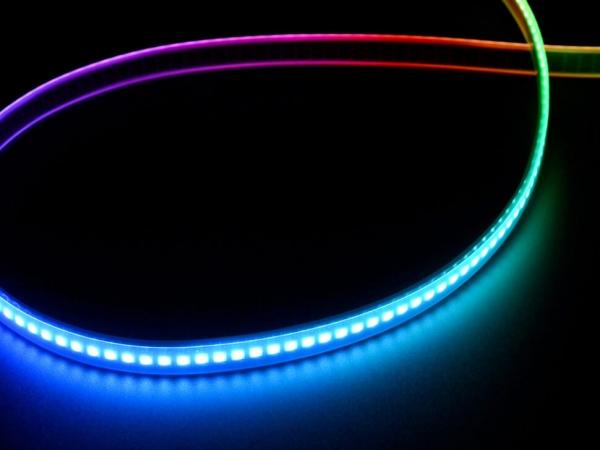 Adafruit - Adafruit DotStar Dijital LED Şerit - Siyah 144 LED/m - 0,5 Metre