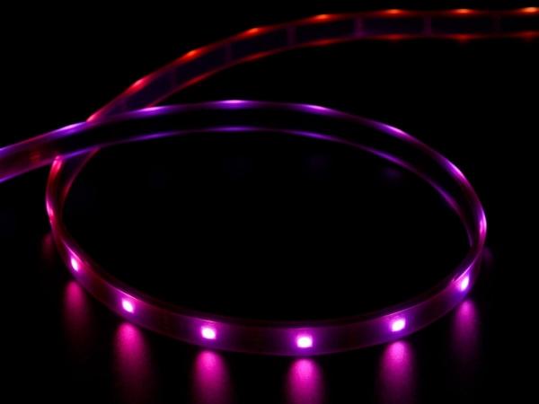 Adafruit - Adafruit DotStar Dijital LED Şerit - Siyah 30 LED - Metre Başına 1m