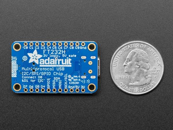 Adafruit FT232H Breakout - Genel Amaçlı USB'den GPIO, SPI, I2C & Stemma QT - Thumbnail