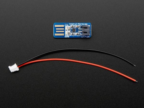 Adafruit Micro Lipo - USB LiIon/LiPoly Şarj Cihazı - v1 - Thumbnail