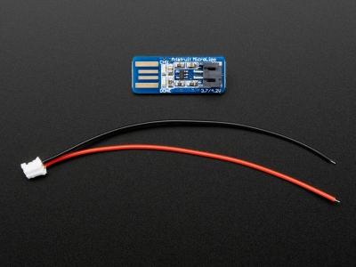 Adafruit Micro Lipo - USB LiIon/LiPoly Şarj Cihazı - v1